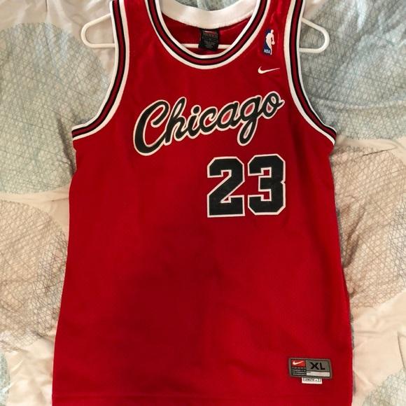 size 40 17a84 96519 Vintage Michael Jordan 23 Jersey Chicago Bulls